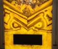 Камин из Оникса Оранж